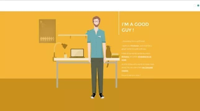 Creative Interactive Resume Designs mameara