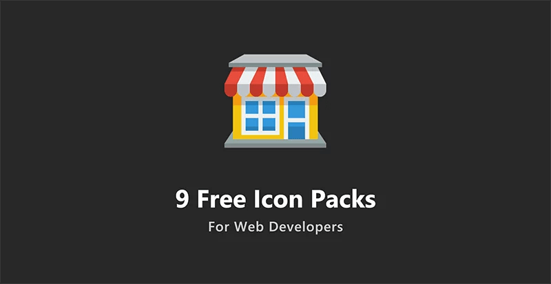 9 Free Icon Packs For Web Developers
