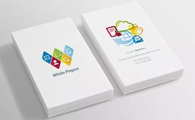 bcard - 30+ Super Cool Business Cards Examples