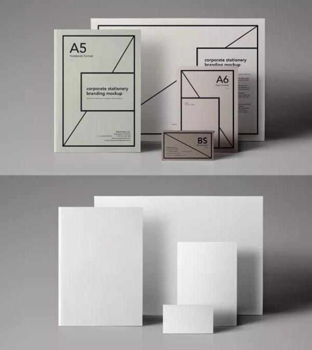 0024 free psd files - 60+ Branding, Identity & Stationery Free PSD Mockups