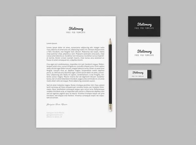 Branding Stationary Mock up Template Free PSD - 60+ Branding, Identity & Stationery Free PSD Mockups