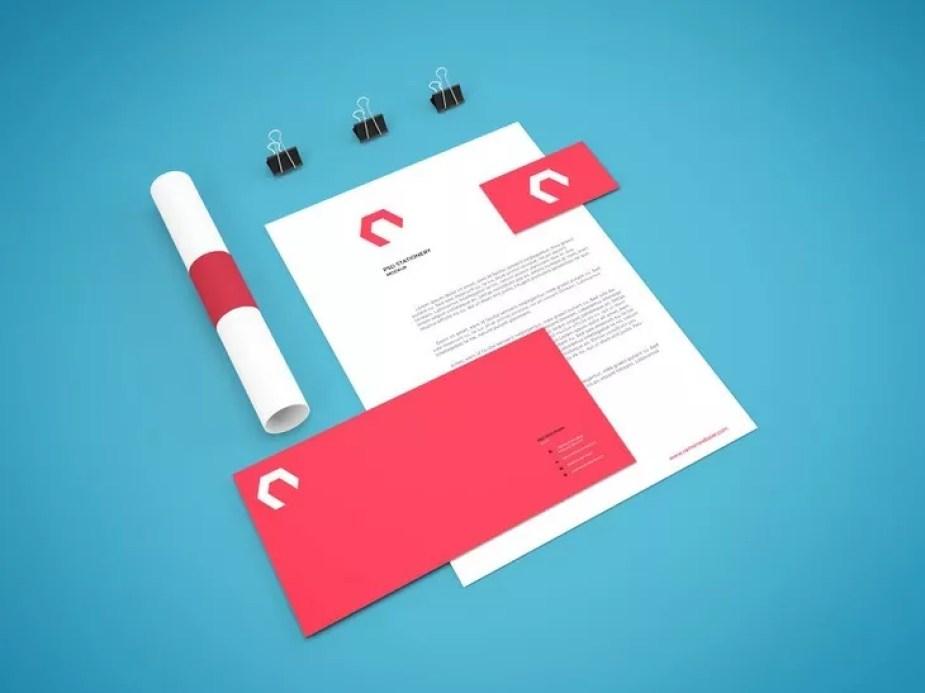 Branding Stationery Mockup Vol.7 - 60+ Branding, Identity & Stationery Free PSD Mockups