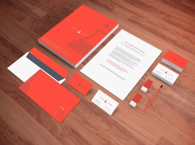 Realistic Stationery PSD Mockup - 60+ Branding, Identity & Stationery Free PSD Mockups