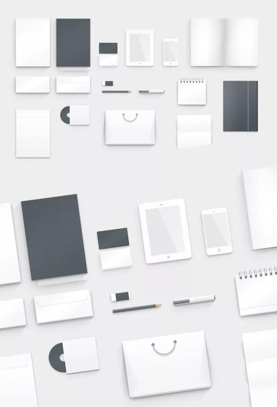 free graphic branding psd mockup - 60+ Branding, Identity & Stationery Free PSD Mockups