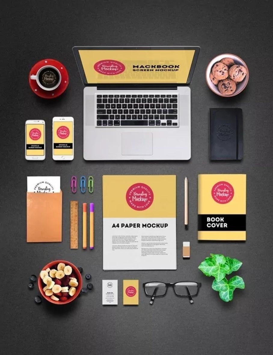 free branding mockup - 60+ Branding, Identity & Stationery Free PSD Mockups