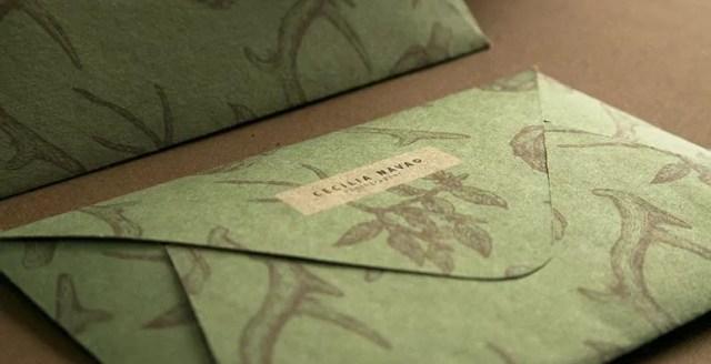 http lobuloburo com mx images ceci5 jpg 2 - 32 Beautiful Envelope Design Examples for Inspiration