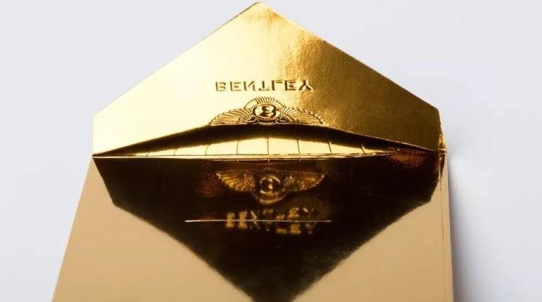 Gold Envelope Designs