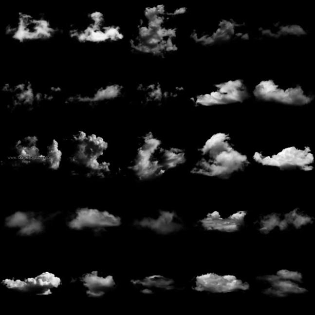 photoshop free brush - 40+ Beautiful Photoshop Cloud Brushes