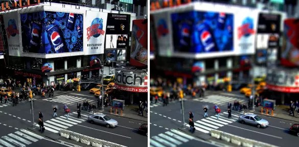 difference - 30+ Awesome Examples of Tilt-Shift Photography
