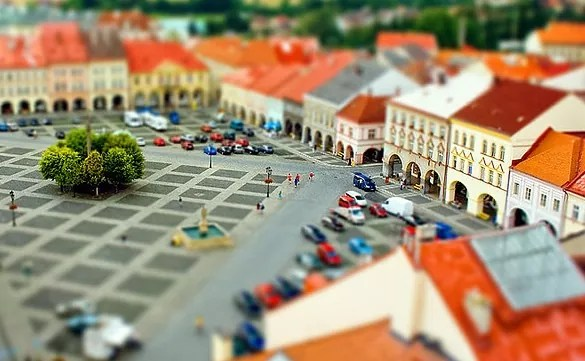 palace miniature - 30+ Awesome Examples of Tilt-Shift Photography