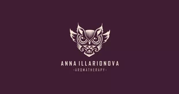 owl logo 1 - 35 Owl Logo designs For Your Inspiration