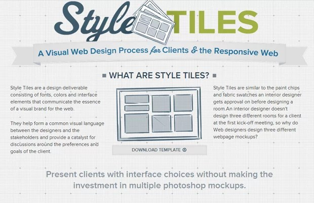 02 style tiles css3 responsive library - 25 Free Tools for Creating Responsive Website Layouts