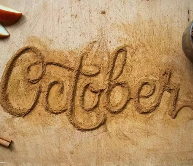 4.Danielle Evans   October - Food typography – typography inspiration you can eat