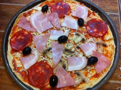 cum se face pizza