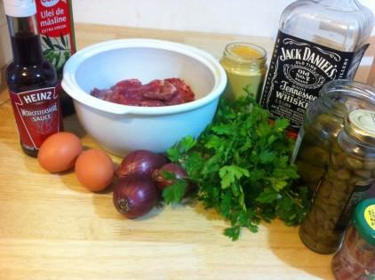 ingrediente biftec tartar