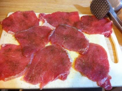 carne snitel