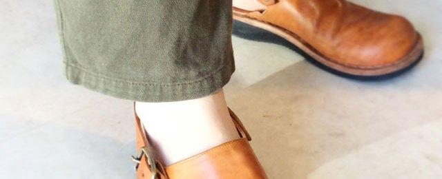ヒラキヒミおでこ靴