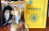Instant Coffee and Tea Maker 1950年代製造 Old Pyrex