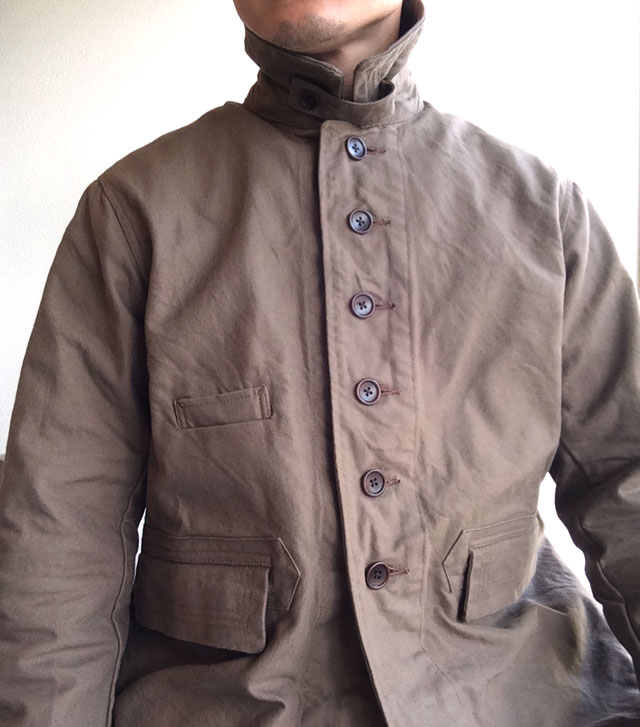 antiqued hunting coverall DjangoAtour