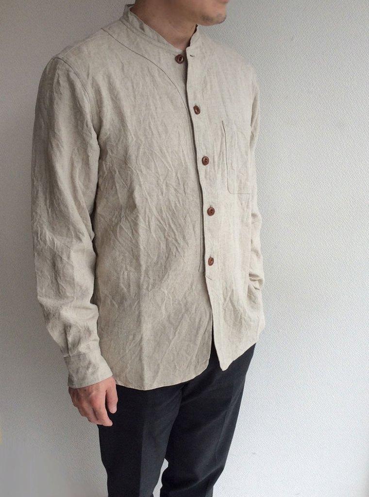 farmers heavylinen shirt ecru