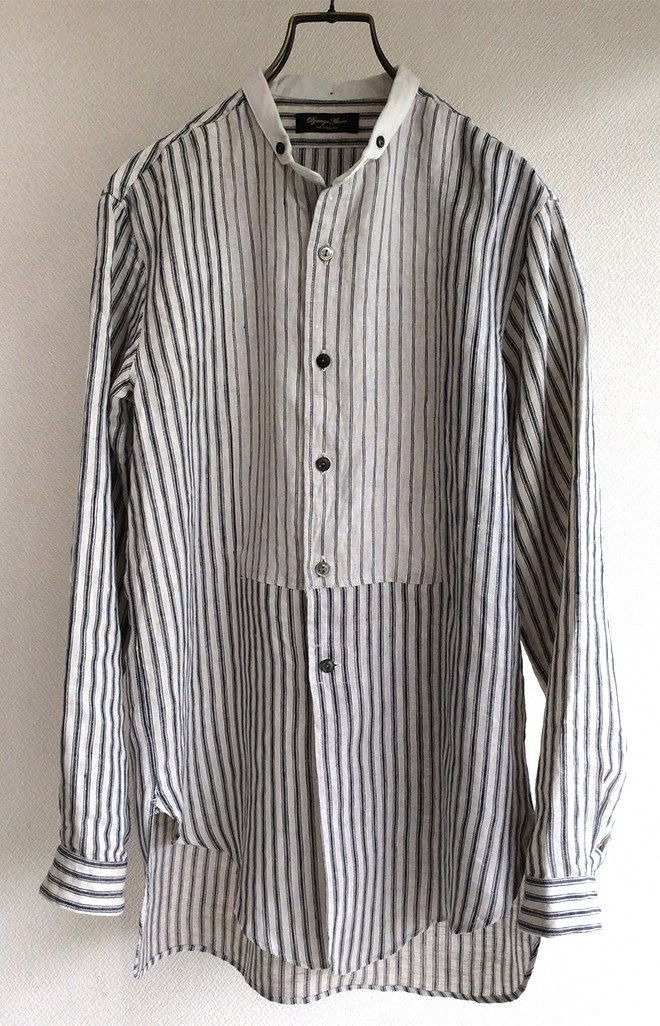irish-worker cleric linen shirt