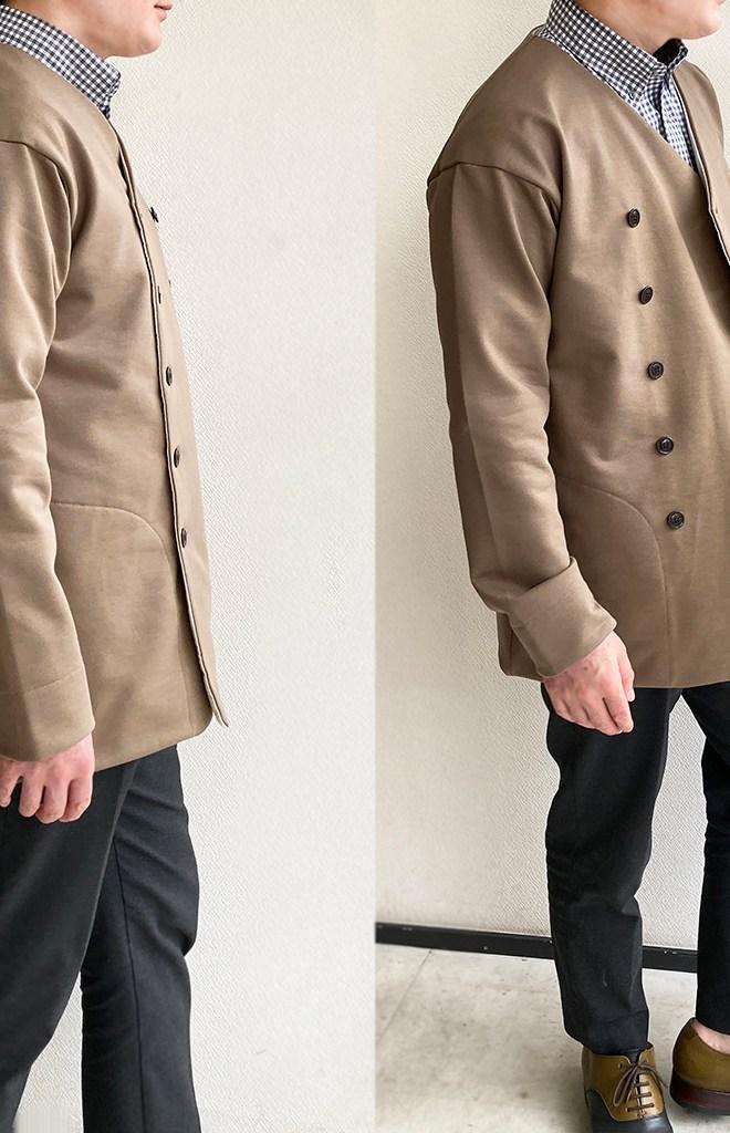classic volendam no-collar jacket