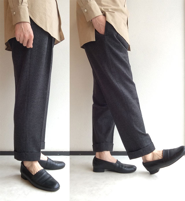 リビエラ トラウザー グレー Riviera Trousers Grey/KAPTAIN SUNSHINE