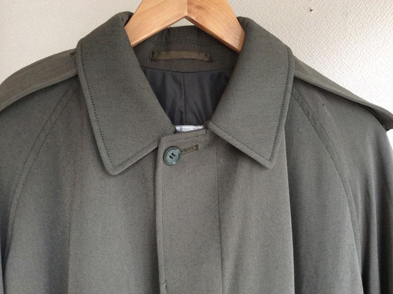 1970's British Royal Army Trench Coat Grey