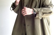 French Military Motorcycle Coat