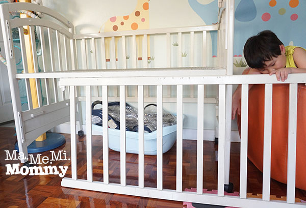 Transform from Crib to Table in 3 Easy Steps