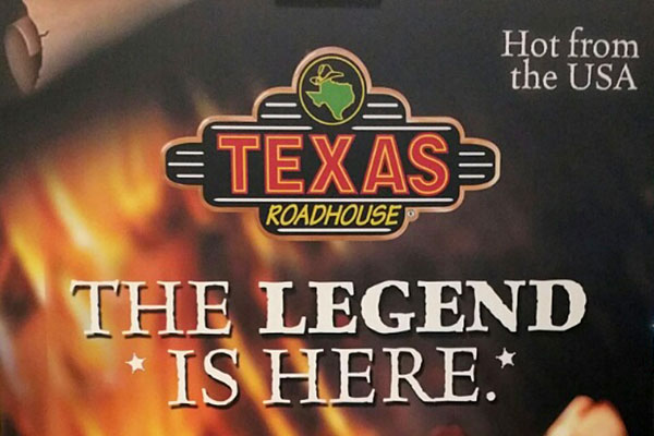 Texas Roadhouse, the Good, the Bad, the Ugly