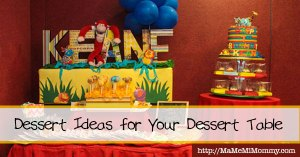 Dessert Table Ideas