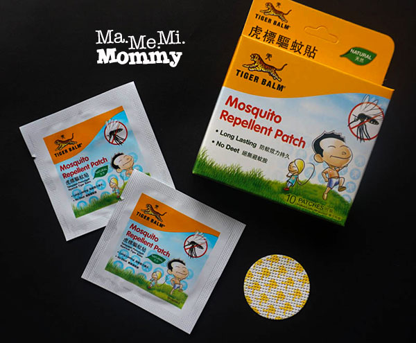 Tiger Balm Mosquito Repellant Patches