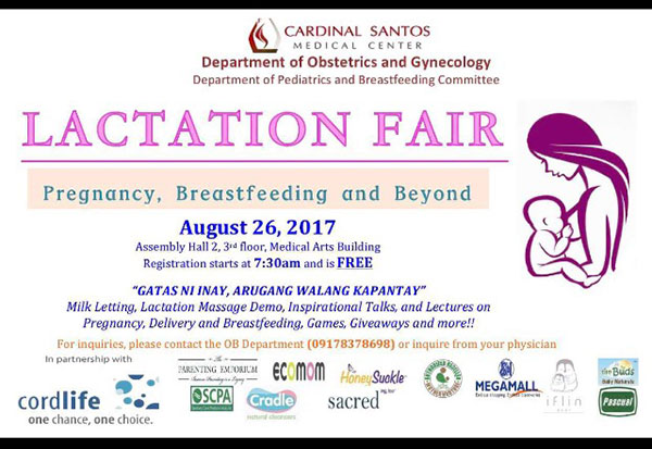 Lactation Fair at CSMC