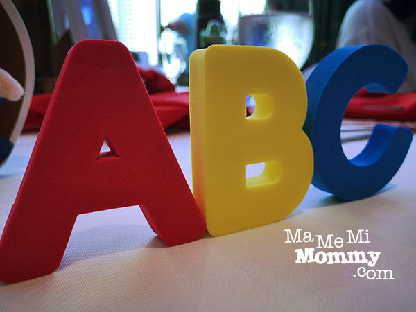 ABC, just one of the toys included in the Learning Time Subscription Box