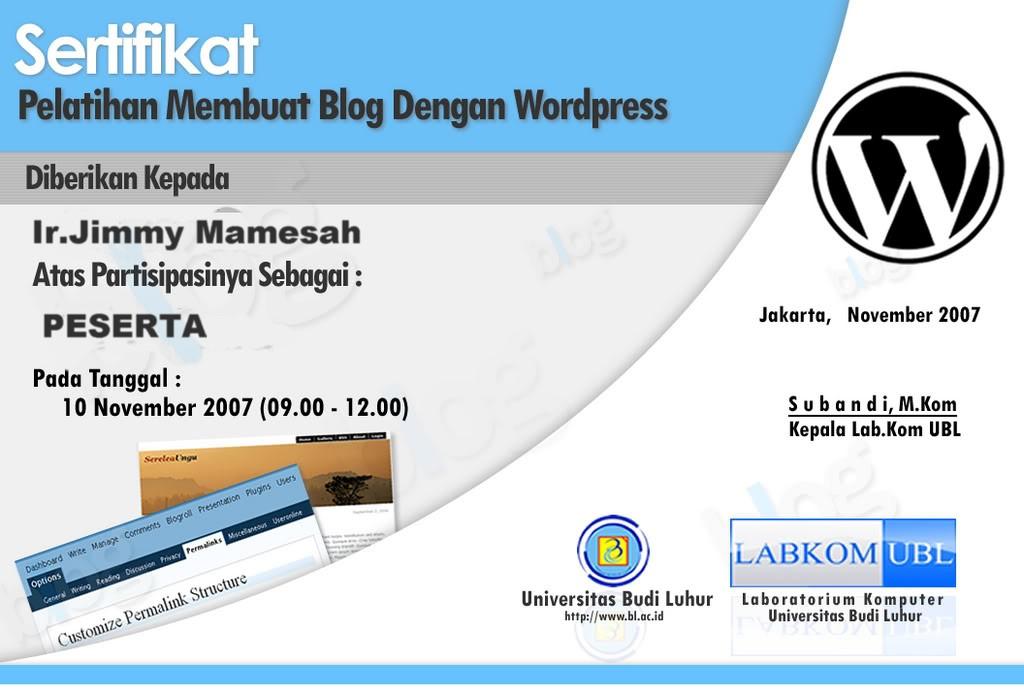 sertifikat wordpress