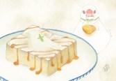 「トースト(メープルシロップがけ)」