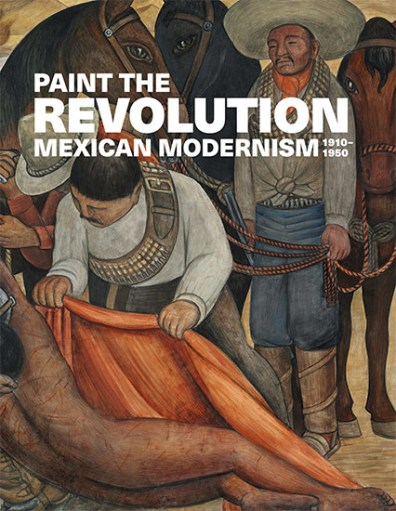 Exhibition poster featuring a Diego Rivera painting and the exhibition title