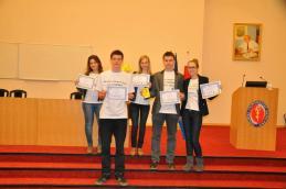 W podziękowaniu dostaliśmy dyplomy, które dla nas wszystkich dużo znaczą :)