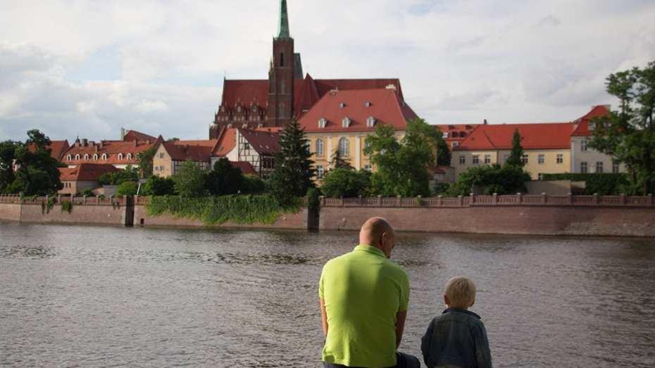 Breslau mit Kindern
