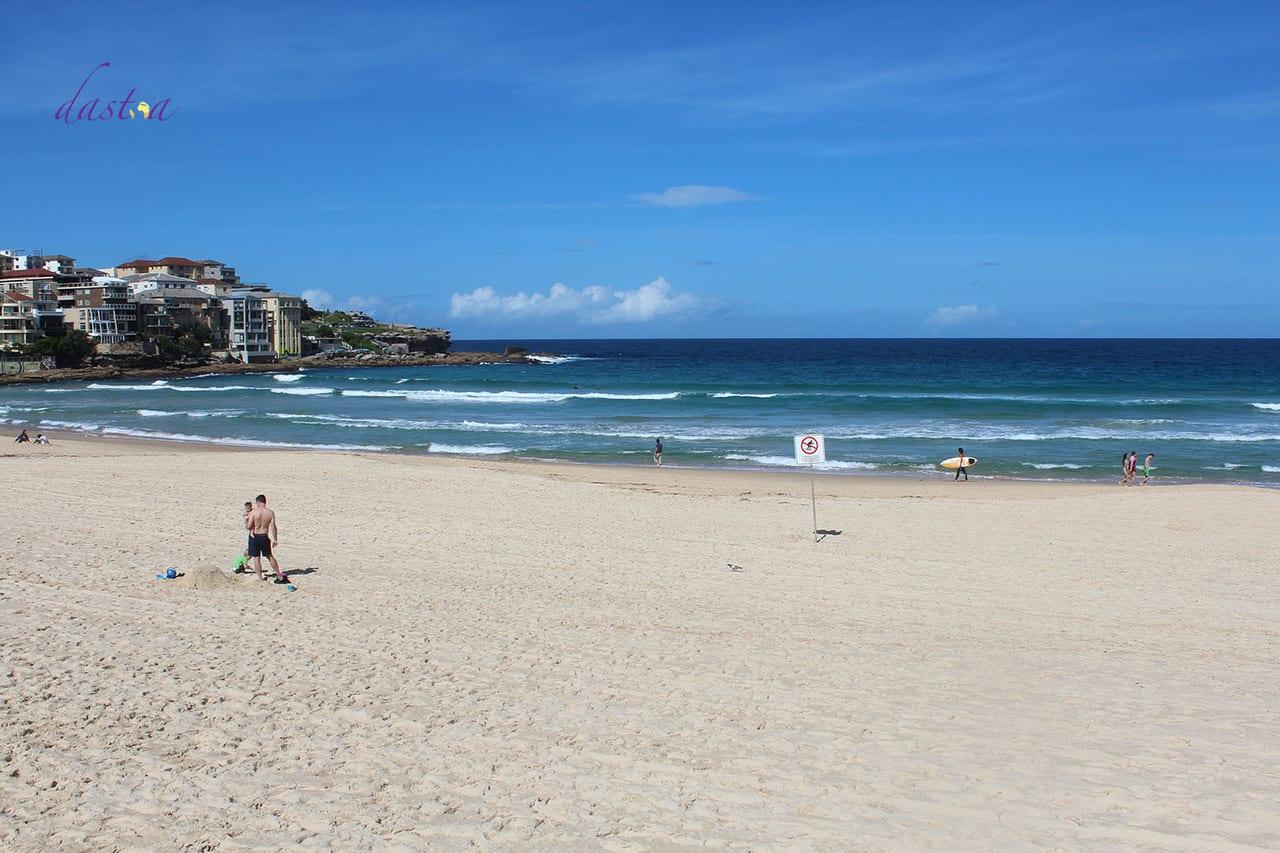 Australien mit Kindern Bondi Beach