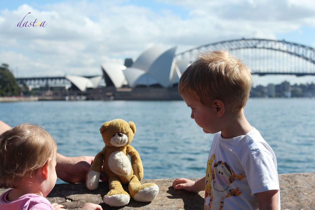Fernreisen mit Kindern wohin? Beliebte Urlaubsziele für Familien – Australien, Sydney