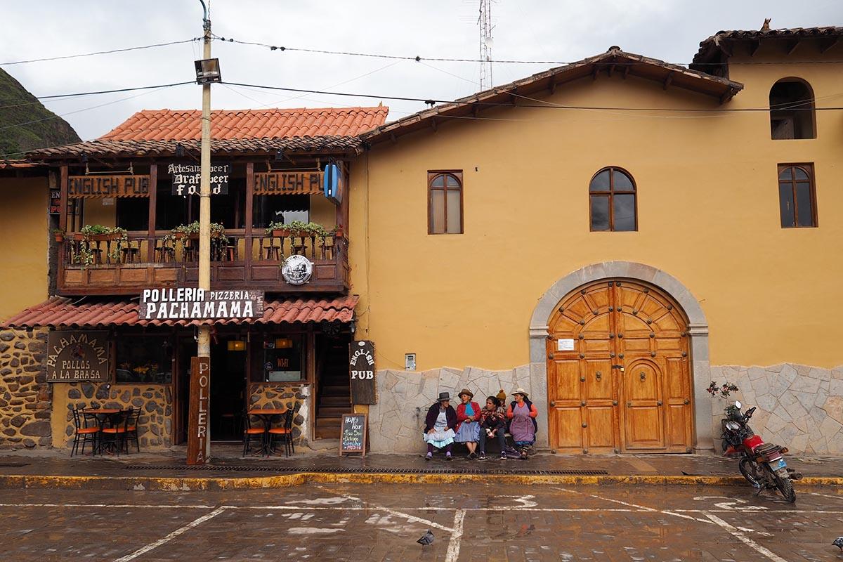 Heiliges Tal der Inka – im Zentrum von Ollantaytambo