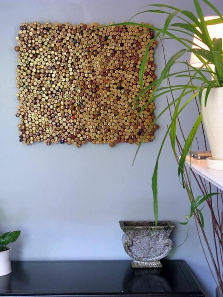 Recyclez vos bouchons en liège pour vous créer une décoration originale et design