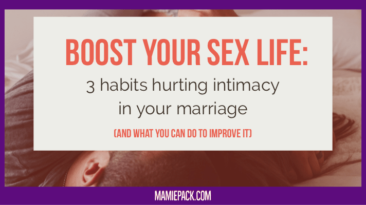 How to improve your sex life in marriage