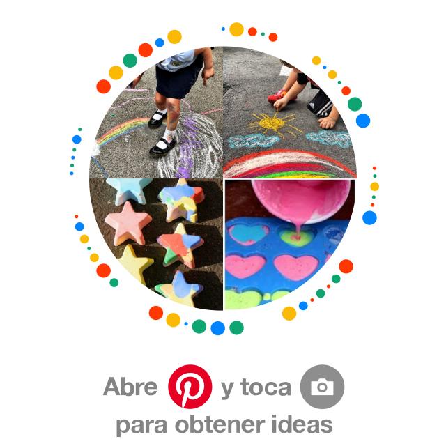 Pincode actividades con gises de colores