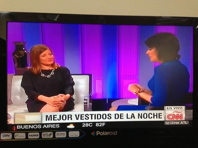El estar en Miami me ha dado la oportunidad de tener acceso a importantes medios de comunicación del mundo hispano, como CNN.
