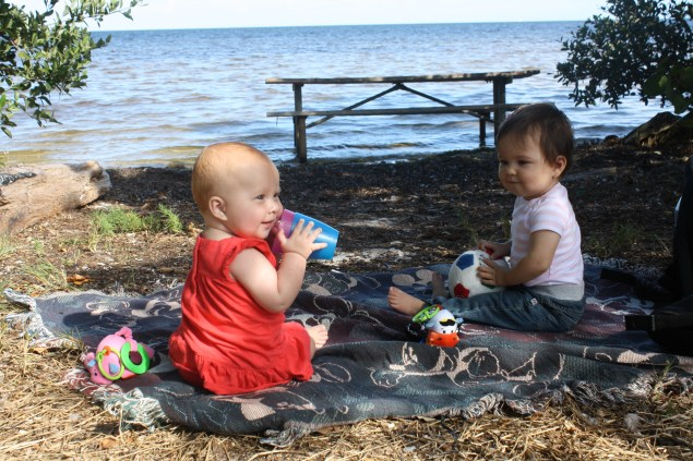 Lu fue la primera amiga que tuvo Cristina. Junto con su mamá, Ana, organizábamos lindos paseos mientras nosotras descubríamos la ciudad.
