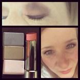 Probando una nueva paleta de color con Mary Kay / sombras: mineral eye color en stone, driftwood y ballerina pink; lipstick 💄: first blush; rímel: lash love mascara en I❤black; delineador: gel eyeliner en jet black; base: CC Cream