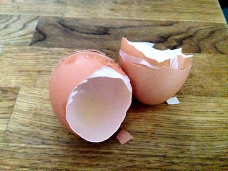 Como ingrediente principal: huevos cage-free.